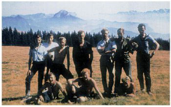 Eldon Contingent of 1962 Goufre Berger Expedition